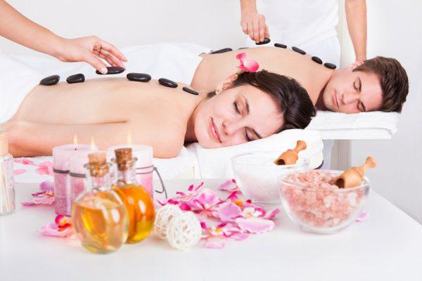 Lafusion Spa Hot Stone Couples Massage